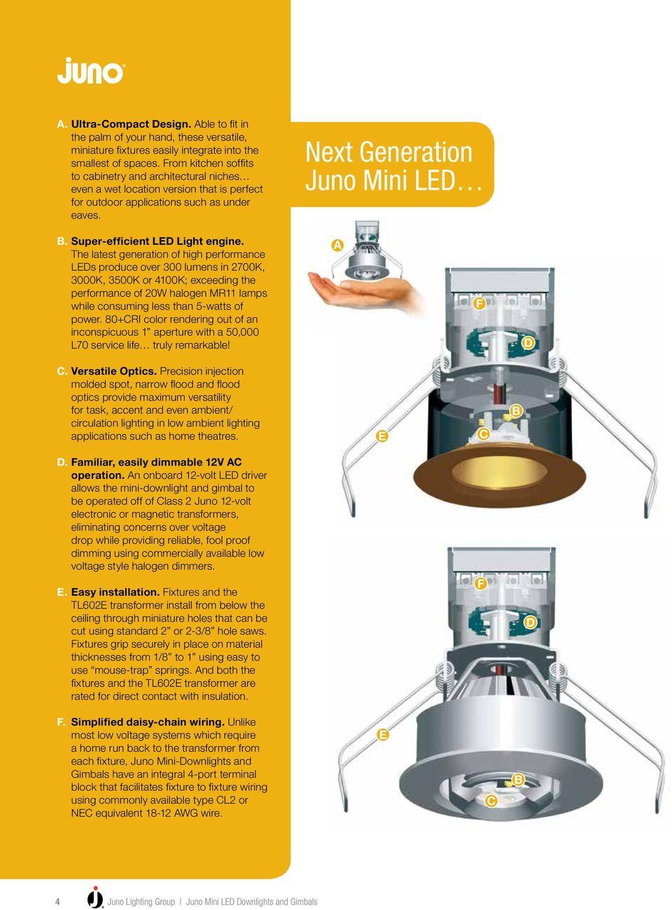 medium resolution of super efficient led light engine