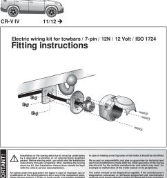 before starting work you must read the installation instructions through completely suppliers of towbar wiring  [ 960 x 1358 Pixel ]