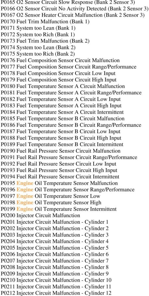 small resolution of composition sensor circuit malfunction p0177 fuel composition sensor circuit range performance p0178 fuel composition sensor