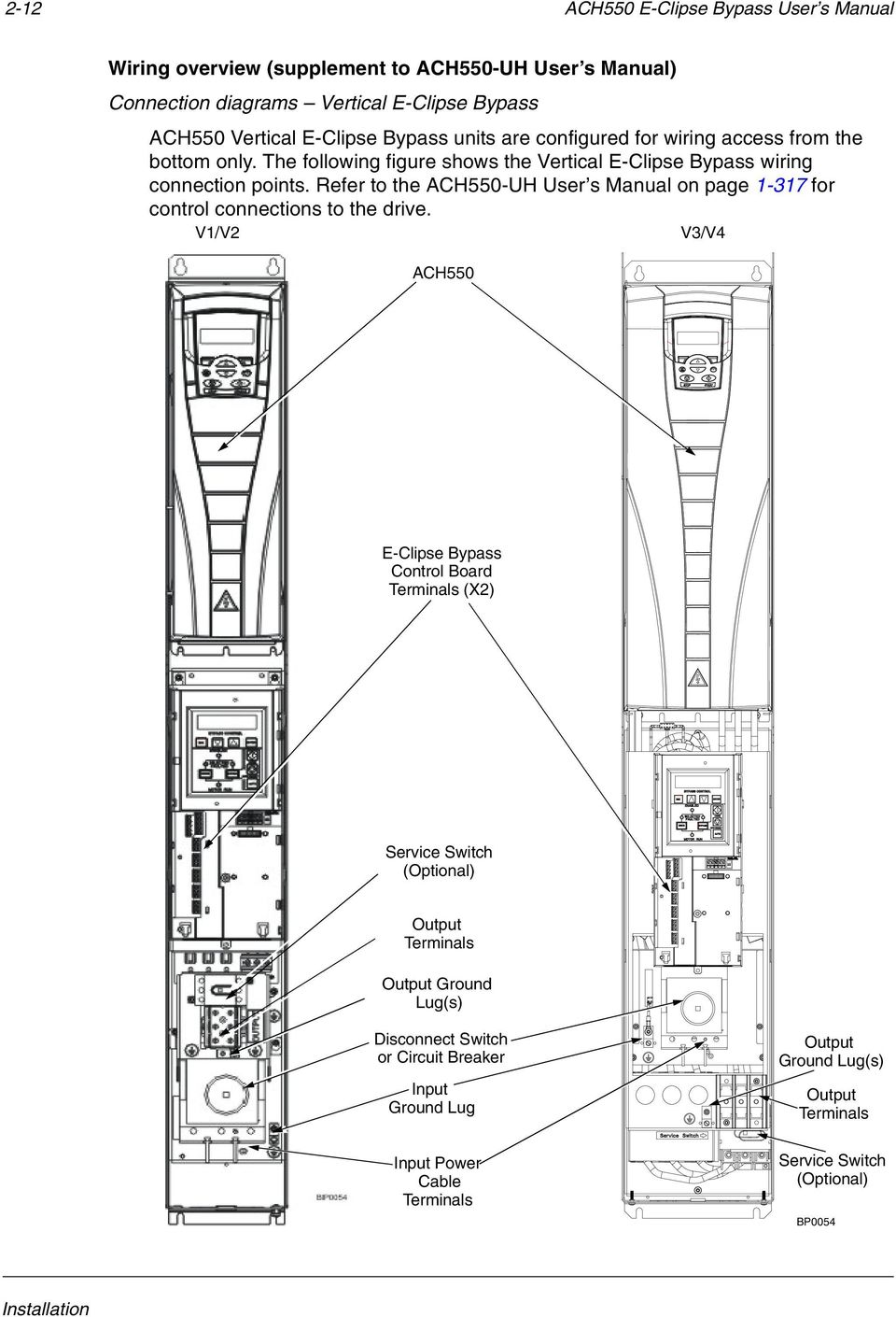 hight resolution of refer to the ach550 uh user s manual on page 1 317 for control