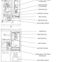 ach550 bcr bdr vcr vdr e clipse bypass drives user s manual ach550output ground lug service [ 960 x 1410 Pixel ]