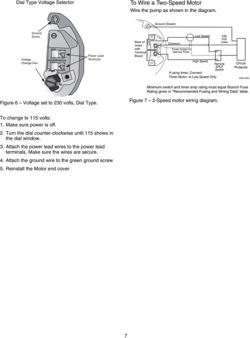 small resolution of low speed 230 volt lines high speed remote spdt switch if using timer connect timer