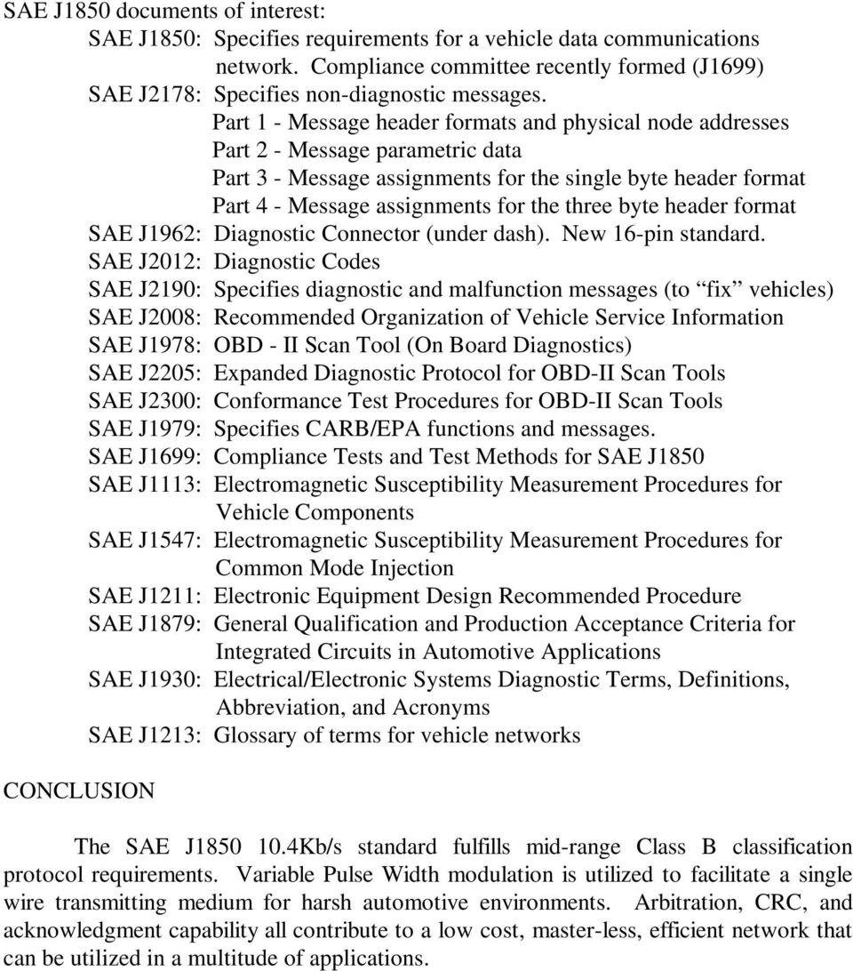 hight resolution of byte header format sae j1962 diagnostic connector under dash new 16
