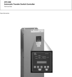 2 technical data page 2 effective may 2004 atc 300 introduction the cutler hammer atc 300 from eaton s electrical business is a comprehensive  [ 960 x 1391 Pixel ]