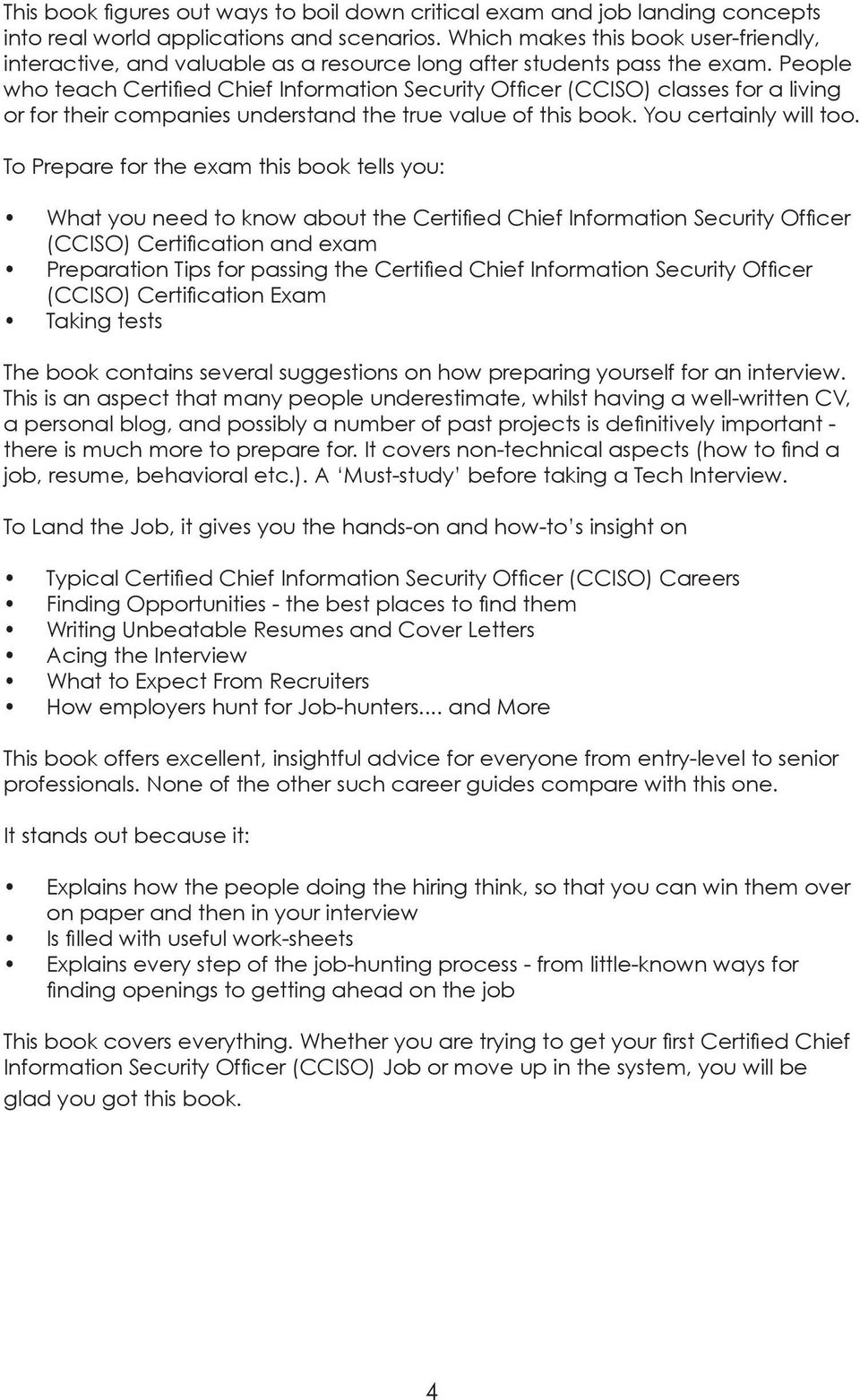 Ciso Resume Ciso Resume Information Security Project Manager Job Description