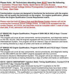 cummins power gen techs quick serve on line access cummins virtual college [ 960 x 1444 Pixel ]