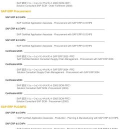 0 ehp6 sap certified application associate procurement with sap erp 6 0 ehp6 sap erp 6 0 [ 960 x 1495 Pixel ]