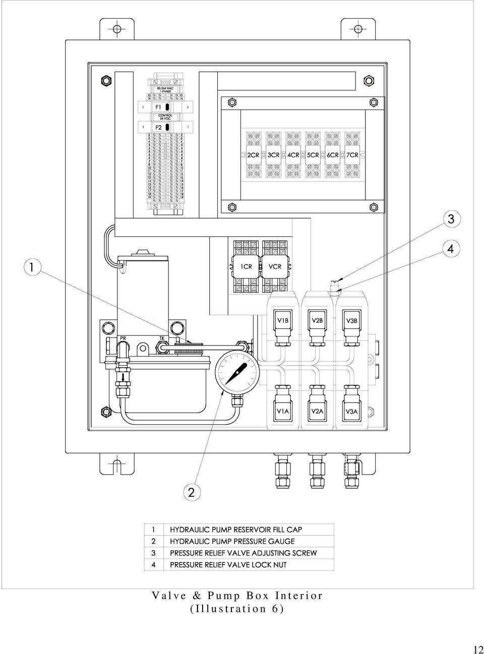 hight resolution of i o r i l l u s 13 f manual hydraulic pump