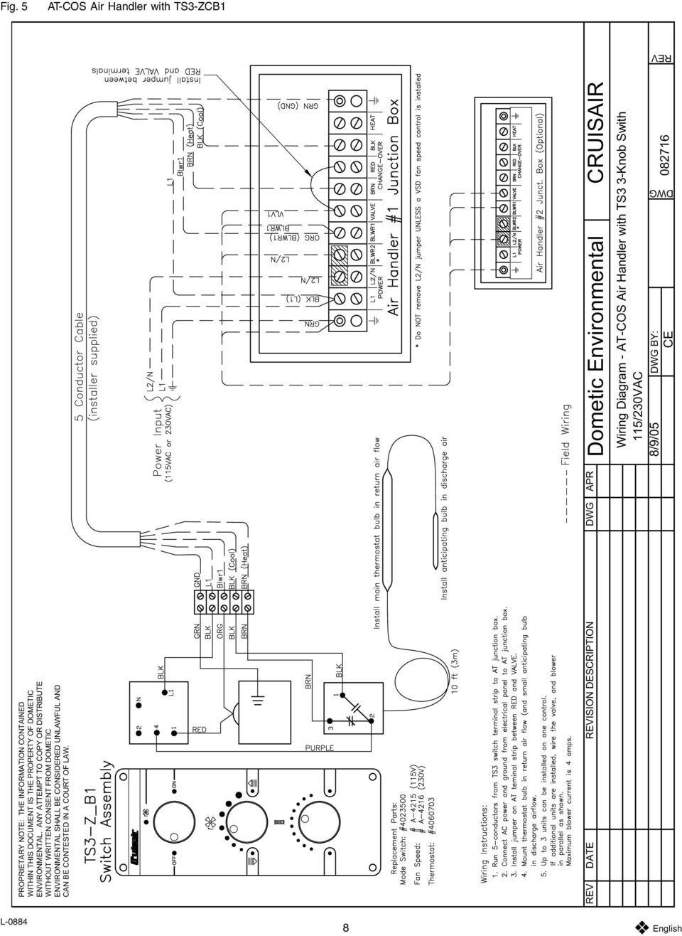 Air Handler Wiring Diagram Air Handler Suspension Wiring