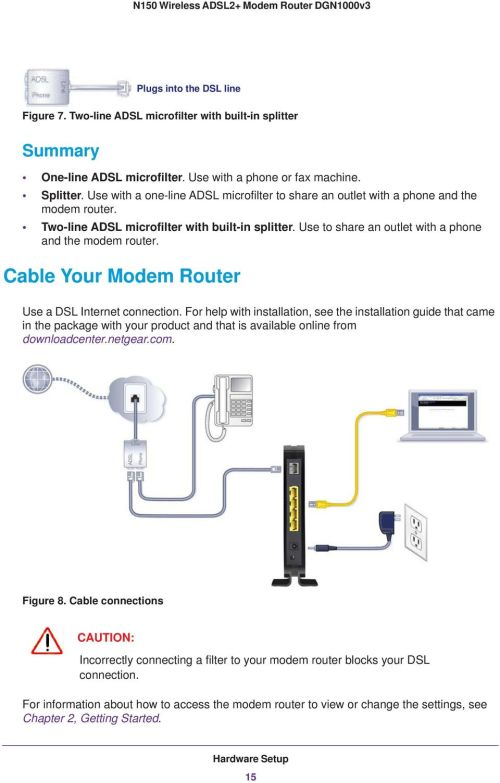 small resolution of cable your modem router use a dsl internet connection