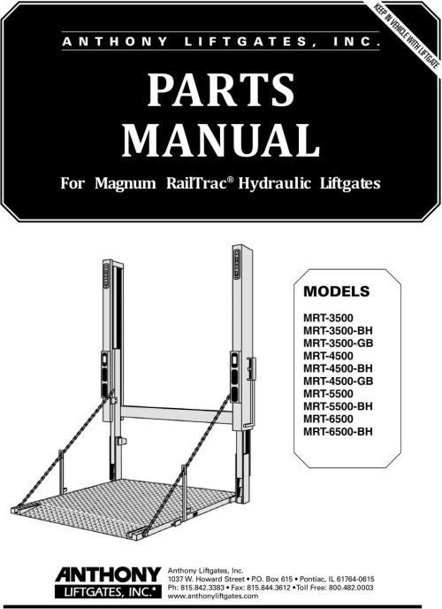 small resolution of  wiring diagram for continuous duty solenoid on parts manual for magnum railtrac hydraulic liftgates models pdf on