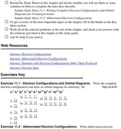 1 writing complete electron configurations and orbital diagrams for uncharged atoms sample study sheet 11 [ 960 x 1321 Pixel ]