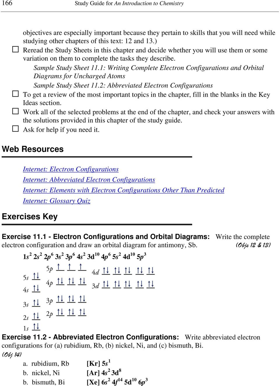 hight resolution of 1 writing complete electron configurations and orbital diagrams for uncharged atoms sample study sheet 11
