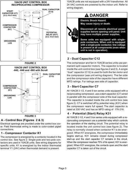 small resolution of york furnace wiring diagram lennox ac 10acb turnson no blower 10acb warning important pdf york furnace