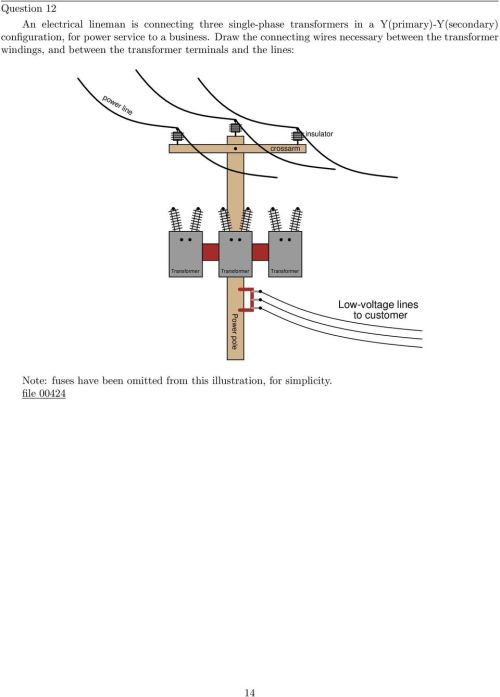 small resolution of draw the connecting wires necessary between the transformer windings and between the transformer terminals and