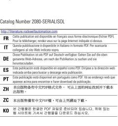 questa pubblicazione disponibile in italiano in formato pdf per scaricarla it collegarsi al sito 2 2 micro800 rs232 485 isolated serial port  [ 960 x 1542 Pixel ]