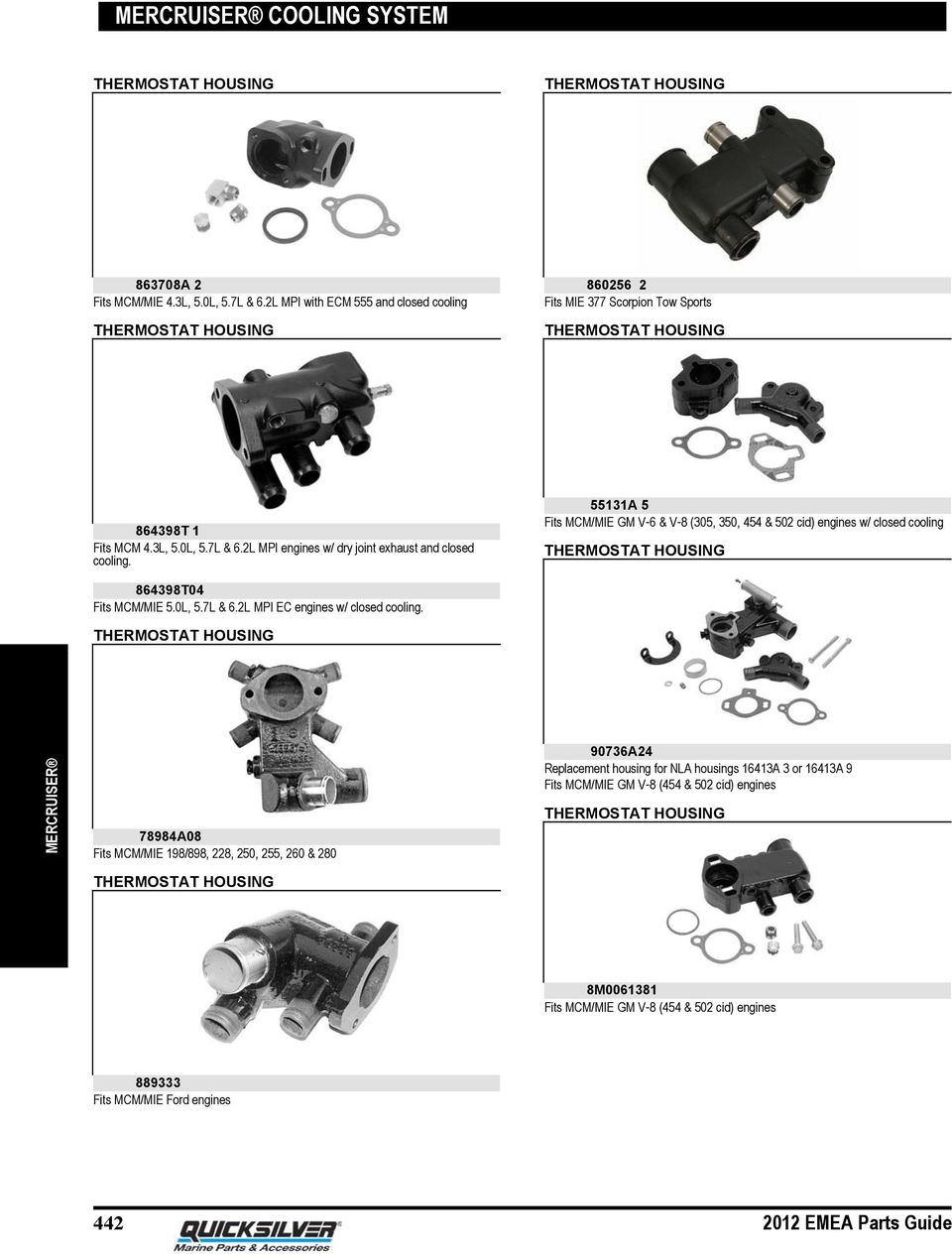 hight resolution of 2l mpi engines w dry joint exhaust and closed cooling 55131a 5 fits mcm