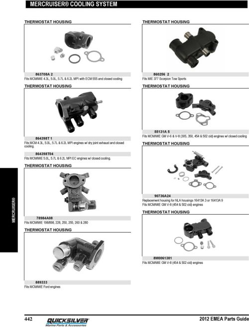 small resolution of 2l mpi engines w dry joint exhaust and closed cooling 55131a 5 fits mcm