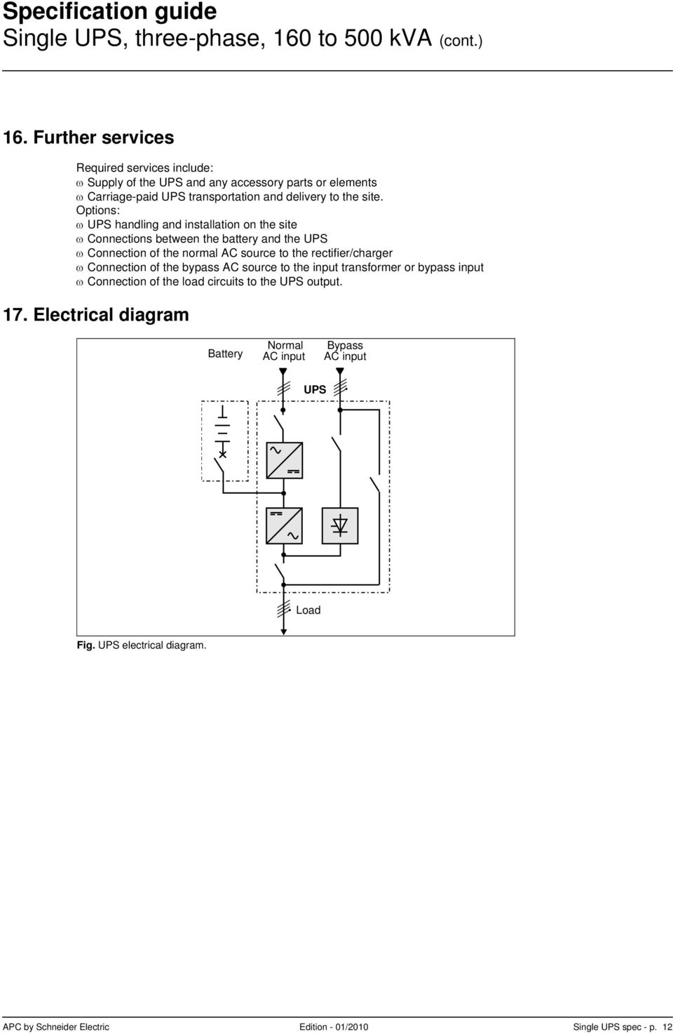 hight resolution of options ups handling and installation on the site connections between the battery and