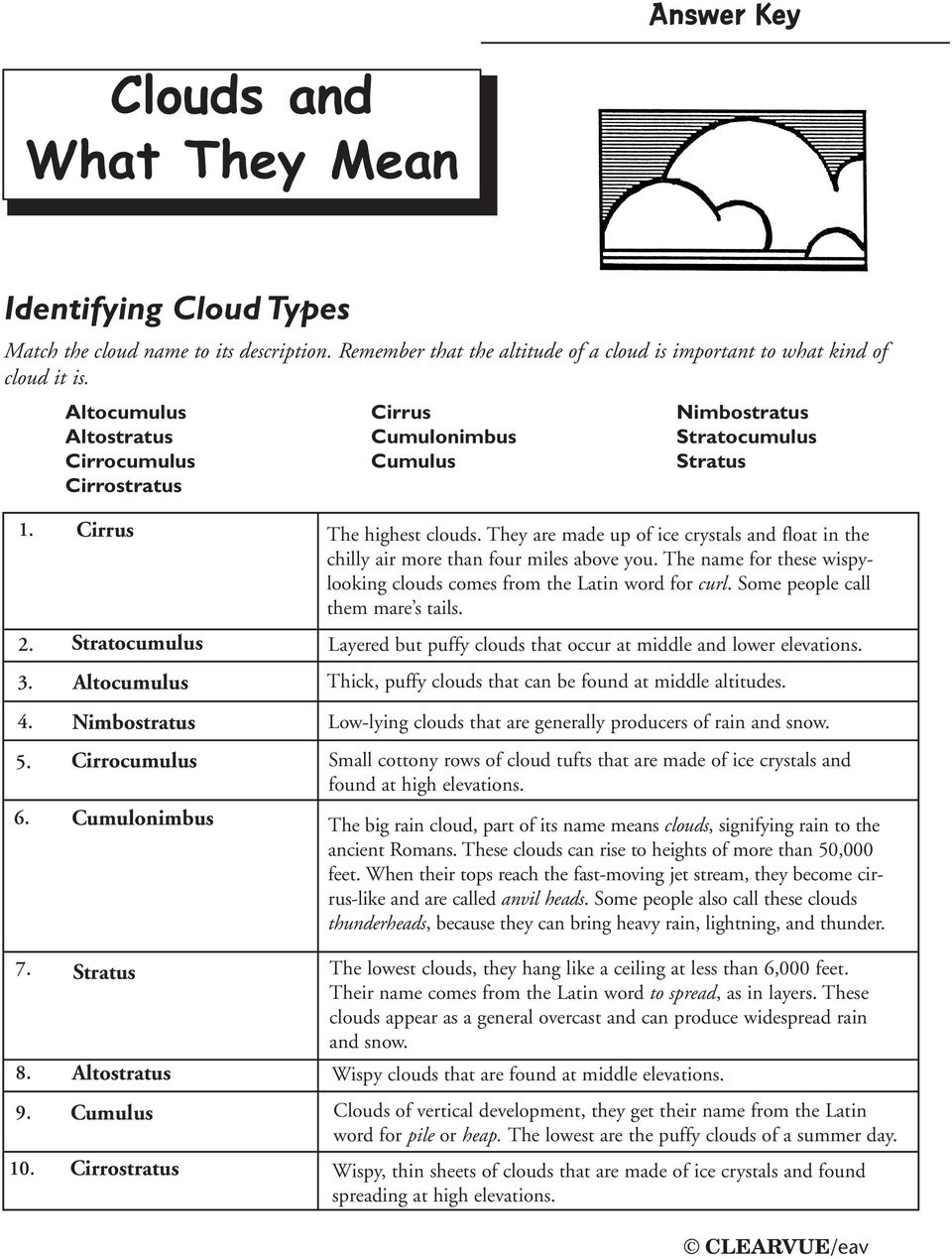 hight resolution of Clouds and What They Mean - PDF Free Download