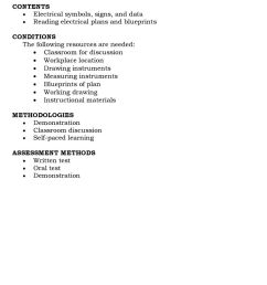 course design course title electrical installation and maintenancecontents electrical symbols signs and data reading [ 960 x 1588 Pixel ]