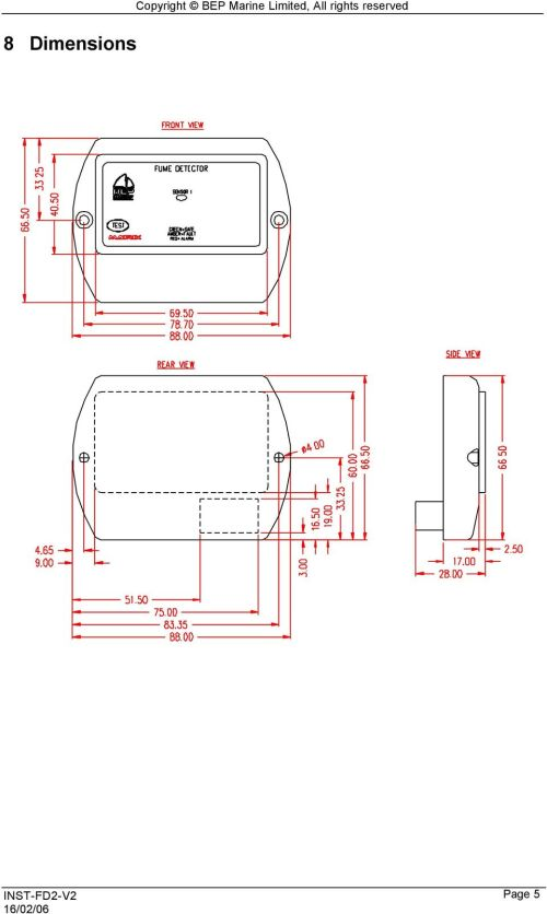 small resolution of 6 9 wiring diagram copyright bep marine limited all rights reserved page 6