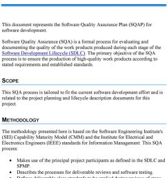 the primary objective of the sqa process is to ensure the production of high quality [ 960 x 1709 Pixel ]