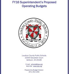 Loudoun County Public Schools FY16 Superintendent s Proposed Operating  Budgets - PDF Free Download [ 1291 x 960 Pixel ]
