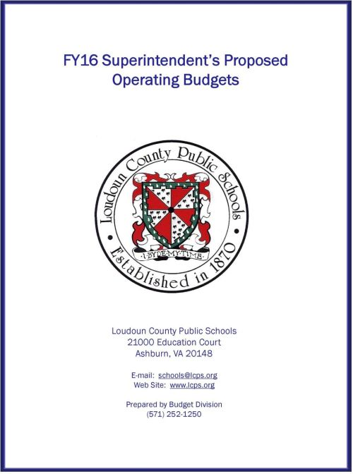 small resolution of Loudoun County Public Schools FY16 Superintendent s Proposed Operating  Budgets - PDF Free Download