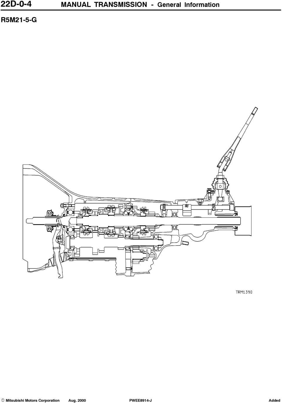 medium resolution of 5 manual transmission general information 22d 0 5 r5m21 5 p
