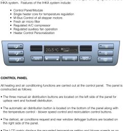 features of the ihka system include control panel module single heater core for temperature [ 960 x 1395 Pixel ]