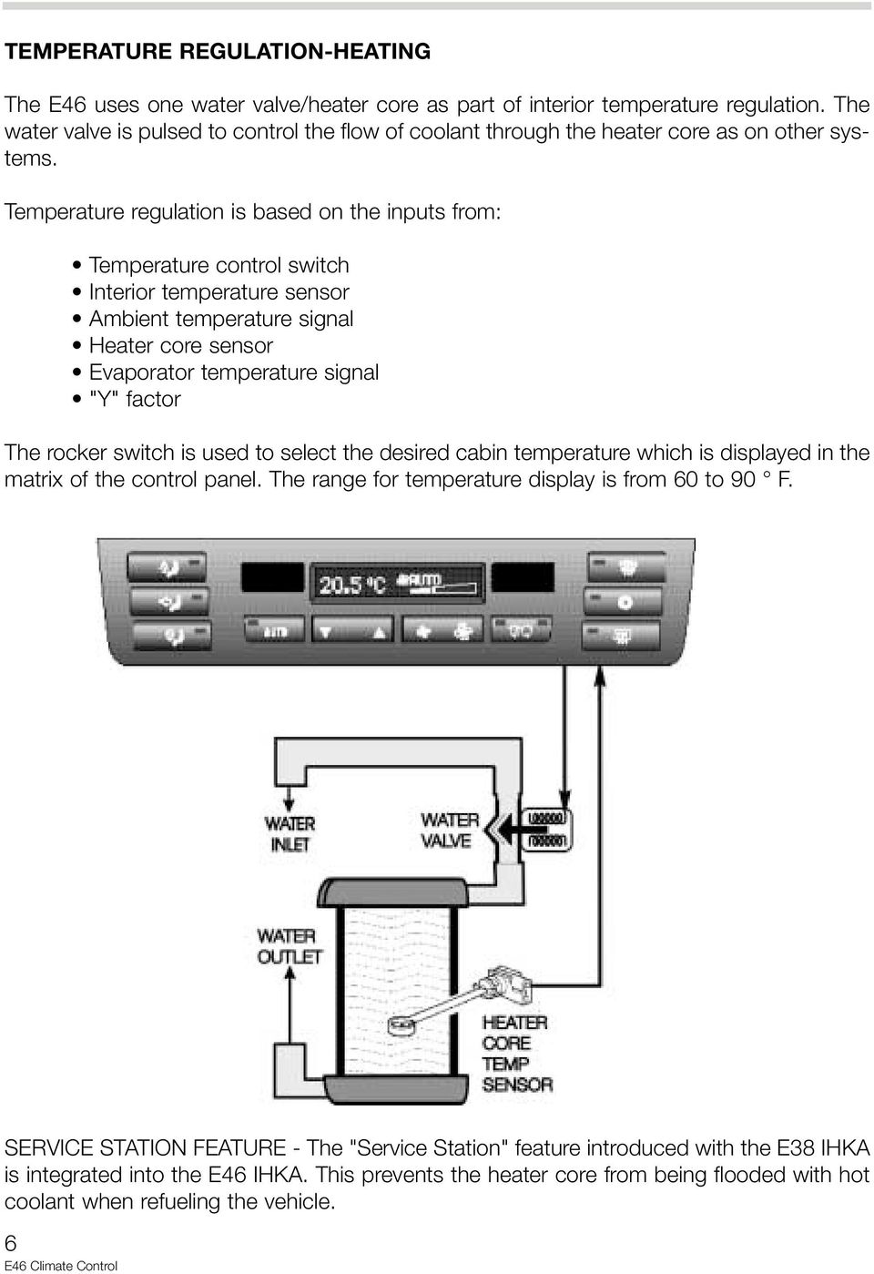 medium resolution of temperature regulation is based on the inputs from temperature control switch interior temperature sensor ambient