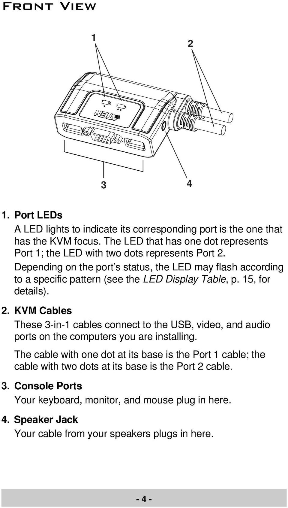 medium resolution of depending on the port s status the led may flash according to a specific pattern