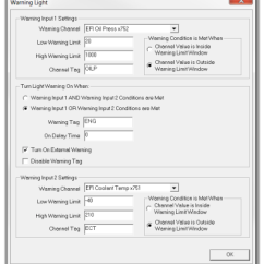 Haltech Iq3 Wiring Diagram Rs485 Street Dash Installation Manual Pdf Programming The Warnings Provides Ability To Program Up Four