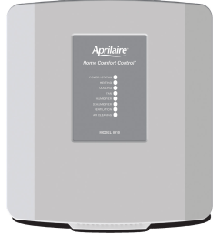 8910 thermostat the aprilaire model 8910 home omfort ontrol consists of two components the user [ 910 x 993 Pixel ]