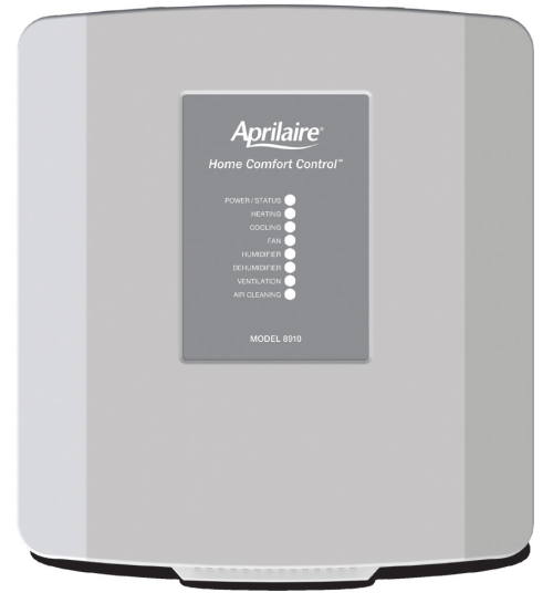 small resolution of 8910 thermostat the aprilaire model 8910 home omfort ontrol consists of two components the user