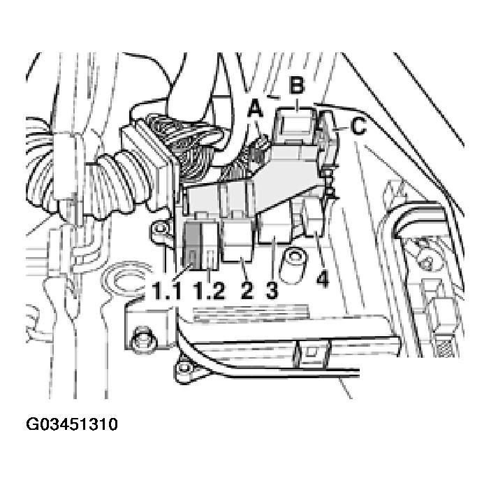 1998 vw passat fuse box diagram