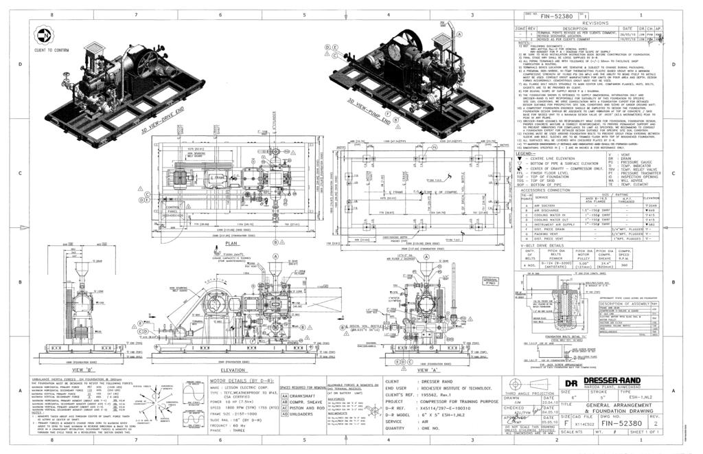 Dresser Rand Compressor Drawings ~ BestDressers 2019