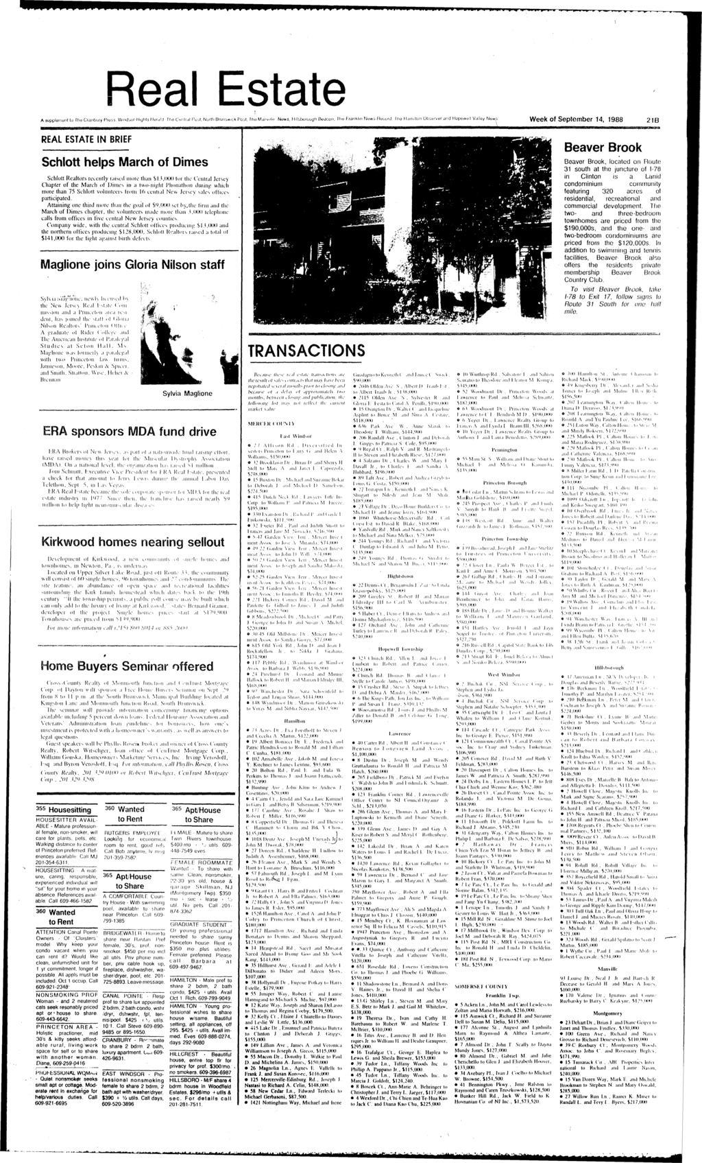hight resolution of real estate 0 week of september 14 1988 21b rel estte in brief