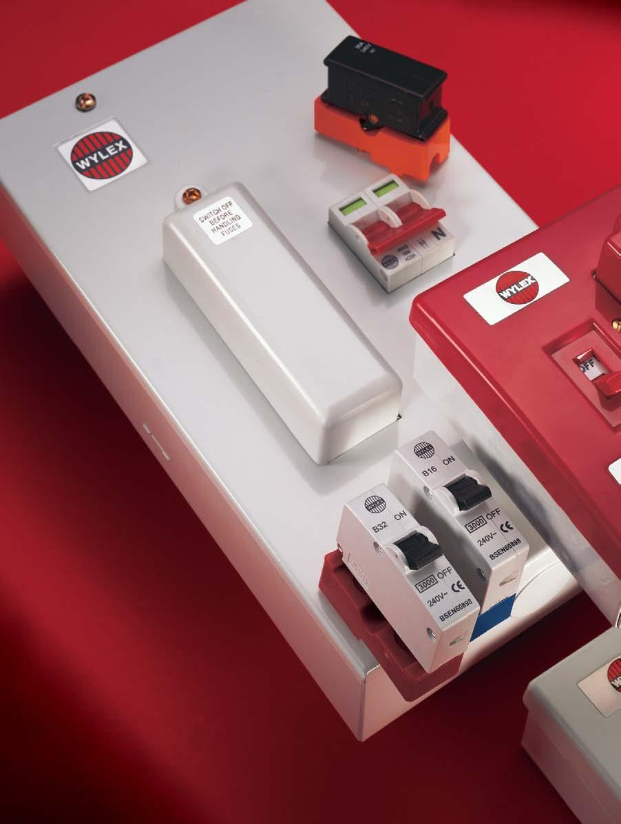 medium resolution of wylex 604 fuse box wiring libraryspreader box will be required above 22mm wide cable lugs terminal