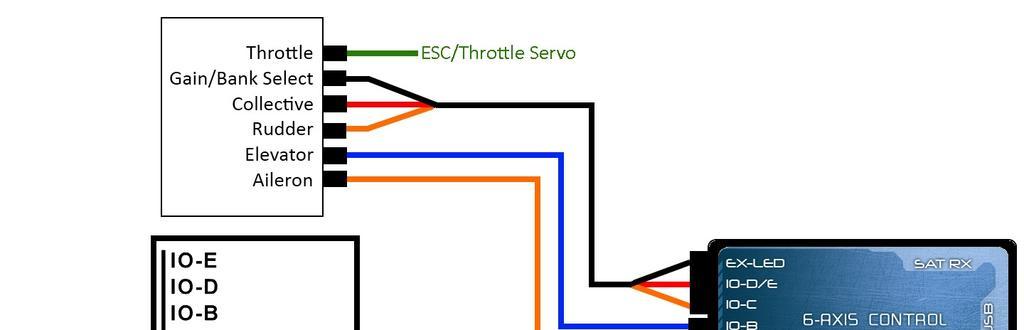 msh brain wiring diagram 2005 toyota tacoma parts mini vbar align 3gx tarot zyx setup guide sk 720 flybarless system pb1 pb2 power bus