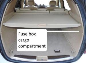 Fuses W164 MClass Diagram, Box Location ML320 ML350 ML500