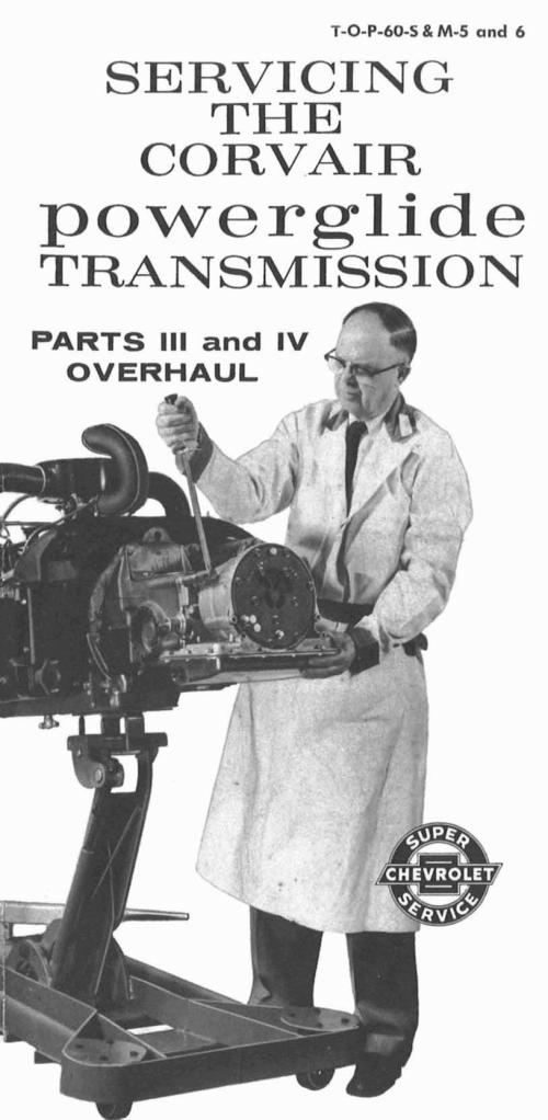 small resolution of t o p 60 s m 5 and 6 servicing the corvair