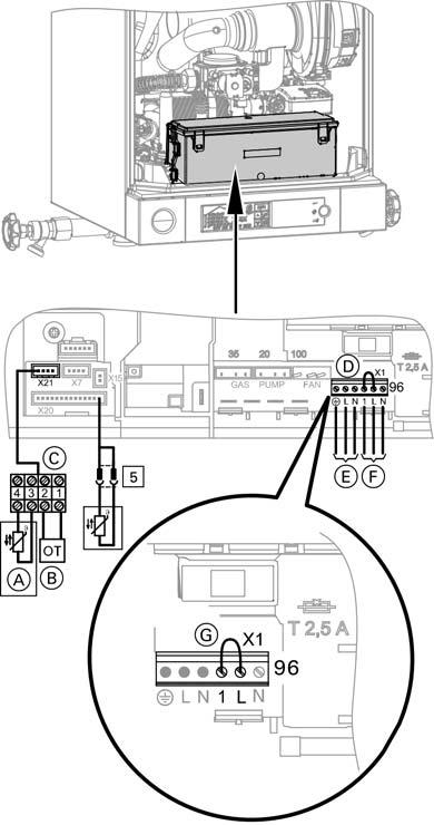 viessmann boiler wiring diagrams renault megane diagram installation and service instructions for use by heating contractor additional information electrical connections to the terminal strip accessories vitodens 100 w b1ha