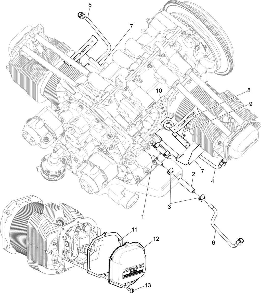 Io 360 N1a Engine Illustrated Parts Catalog