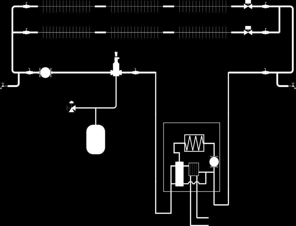 hight resolution of ccb hydronic piping figure 16 ccb series loop zoned system with zone valves ch