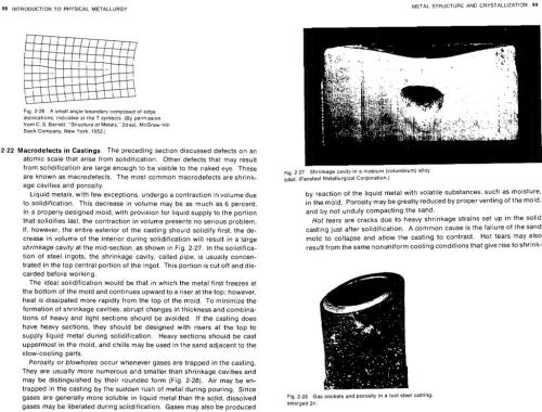 small resolution of 98 introduction to physical metallurgy metal structure and crystallization 99 fig 2 26 a small angle