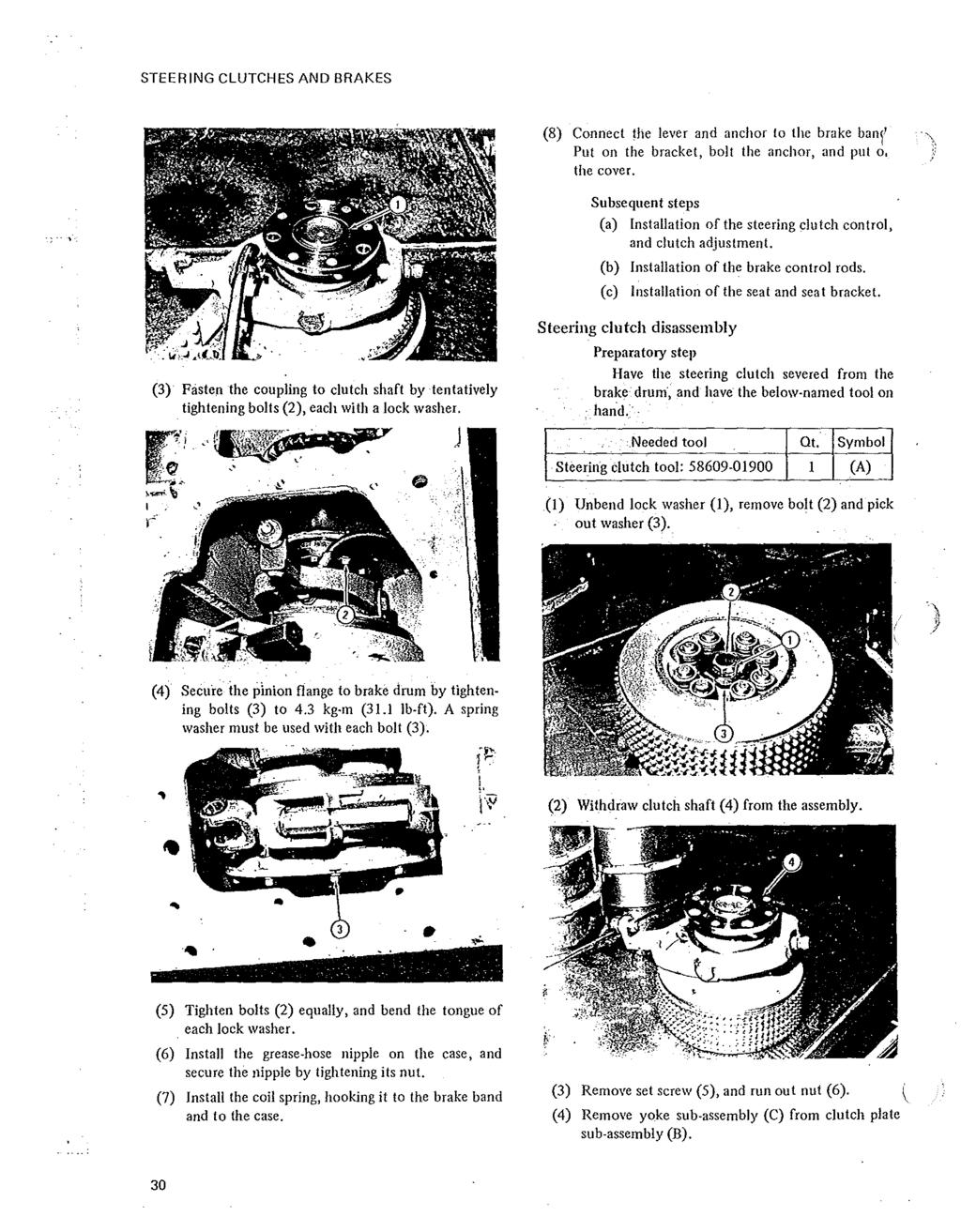 SERVICE MANUAL MITSUBISHI DIESEL ENGINE S4E. ( for BD2F