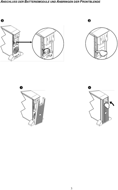 Installationshandbuch. Deutsch. APC Smart-UPS RT. 3000