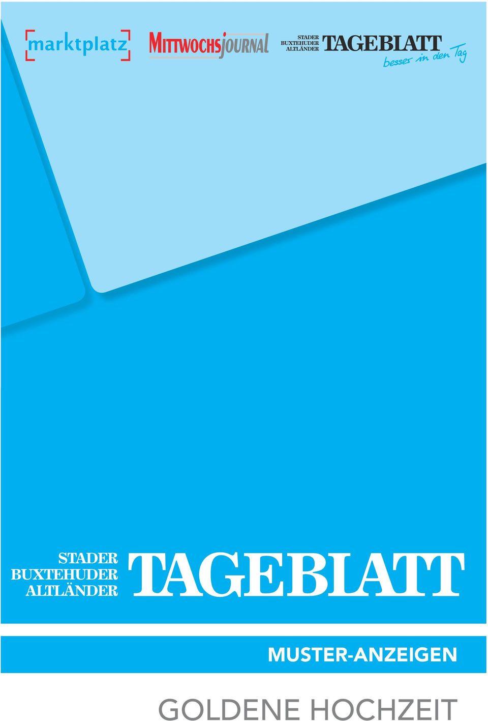 MUSTERANZEIGEN GOLDENE HOCHZEIT  PDF